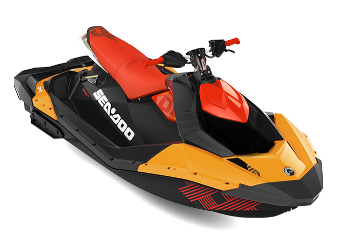 Гидроцикл BRP Sea -Doo 2019 SPARK 3UP 900 IBR TRIXX
